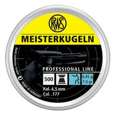 RWS  Meister    4,5mm   500st  art.3010174