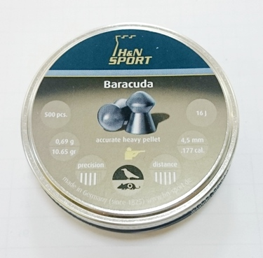 Baracuda 4,5mm  500st  art.3010179