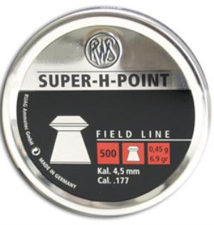 RWS Super-H-Point  4,5mm 500st  art.3010185